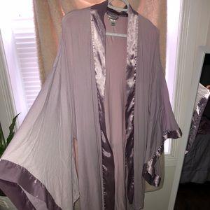 purple lasenza robe